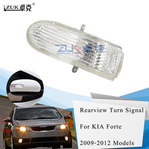 ZUK Brand New Left Rearview Side Mirror Turn Signal LED Light Repeater For KIA Forte Cerato 2009 2010 Blinker Flasher
