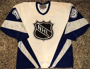 custom jersey 5XL 6XL 1998-1999 NHL All-Star # 66 MATS SUNDIN Hockey Jersey مخيط خصيصا لأي رقم والأسماء Jerseys