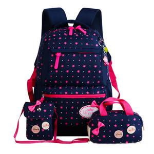 Ziranyu Star Impresión Mochilas Para Niños Niñas Ligero Bolsas Escolares Impermeables Ortopedia Infantil Mochilas escolares Y19061204