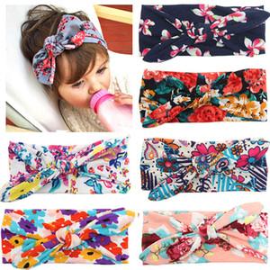 Красочный бохо детские оголовье ленты эластичный новорожденного малыша головной убор дети волос группа девочка с бантом милый Kwaii мягкие резинки