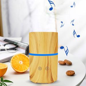 Sessiz Ultrasonik Nemlendirici i Moda Müzik Sıcak Oluştur kokulu Ortam Dahili Bluetooth Hoparlör Müzik Aroma Nemlendirici LED lamba ile