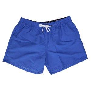 Praia Shorts Natação Um menino de banho dos homens Swimwear Verão de banho Swim Suit Men Nylon Plain Meninos Trunks XXL