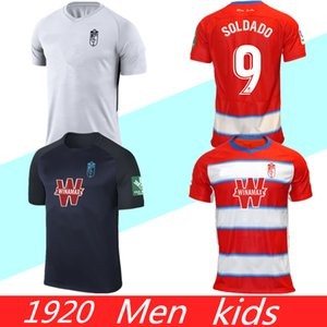 S-XXL 2019 2020 غرناطة لكرة القدم بالقميص 19 20 FC المنزل سولدادو هيريرا أنتونيو بويرتا فاديلو camiseta دي فوتبول قمصان كرة القدم للأطفال