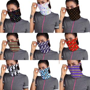 Дизайнер открытый велосипед Велоспорт маски для лица банданы роскошный шарф оголовье шейный платок одно плечо сумка кошелек головные платки половина маски для лица