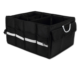 Car storage box debris folding car storage box multi-function car inner tail box storage compartment custom