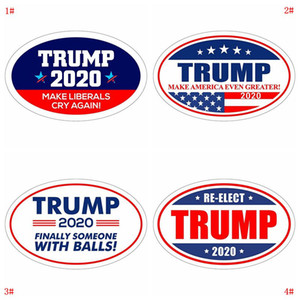 Donald Trump Çıkartma Buzdolabı Sticker 2020 Cumhurbaşkanlığı Seçim Duvar Etiketler Amerika Büyük Çıkartması Çıkartma İçin Araç VT0515 olun tutun