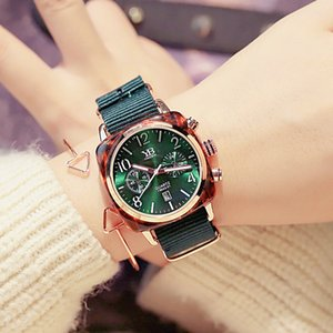 [с браслетом]Ins супер огонь квадратный часы календарь студентки корейский простой пара часы