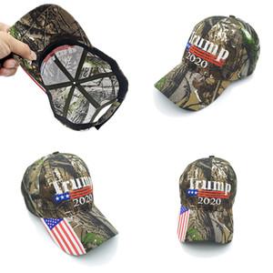 Günstige Donald Trump Hat USA-Flagge Baseballmütze Halten Sie Amerika Groß 2020 Hut Stickerei Stern-Streifen Camo Ajustable Snapback D22603