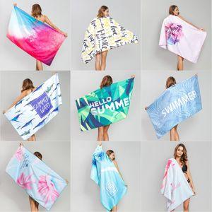 Microfiber Summer Yoga Towel Quick Fast Dry Beach Mat Adults Beach Towel 80*160 cm Swimming Towels