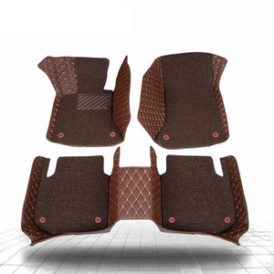 Alfombrillas 3D para bmw Z4 M2 M3 M4 M5 M6 X1 X3 X4 X5 X5M X6M 1 2 3 4 5 6 7 Serie E53 E70 2 capas de alfombra estilo de automóvil