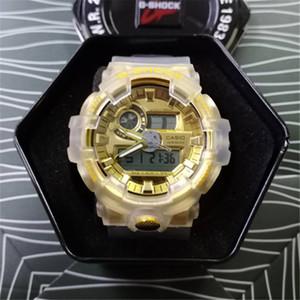 Neue Art und Weise Ankunfts-Männer Art-Militär-Armbanduhr Multifunktions-Auto-LED Digital Shock Quarz-Sport-Uhren für Mann Männliche Studenten Uhr