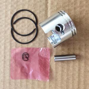 Piston kit 34mm (double piston ring) fits Zenoah Komatsu G2500 2500 25CC 2 Cycle mini chainsaw Cylinder assy ring pin circlips asy