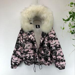 Gagarich Donne Nuove parka 2019 Fashion fresco nuovo inverno camuffamento inverno caldo di spessore Plus Size Giacca Moda Mujer