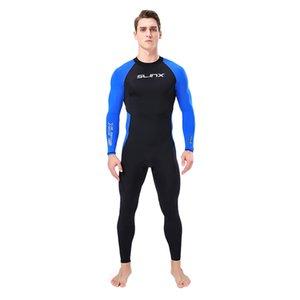 One-Piece Wetsuit Rash Guards adulte manches longues mince séchage rapide imperméable Pare-soleil maillot de bain plongée sous-marine Suit