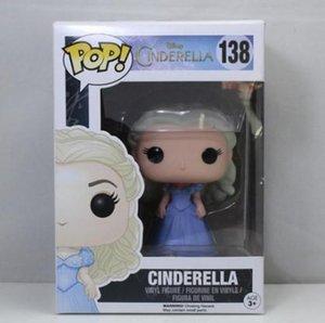 Trend Funko Pop-Handlungs-Film Cinderella Aschenputtel Prinzessin 138 Puppe Kindermode Spielzeugfiguren