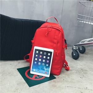 Al por mayor 4-Colores SUP Adolescentes bolsas de hombro unisex del bolso de escuela para adultos Mochila Bolsos de tela casual mochilas de viaje Aire libre Laptop Bags