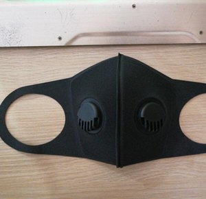 Doube Breathing Valve Mask Sponge Face Mask Washable Sponge Masks Reusable Anti-Dust PM2.5 Protective Masks Recycle Mouth Masks GGA3468