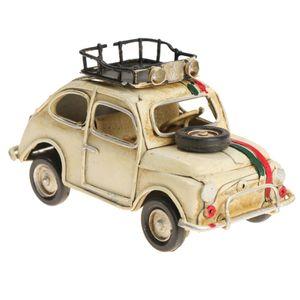 Vintage Antique Car Model Handmade Mini Classic Car Home Desk Decoration Kids Gift Toy #1