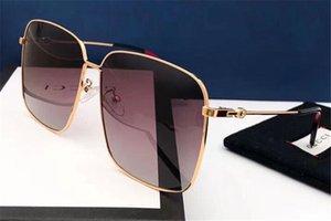 Top Polarized Sunglasses Men Women Big Metal Frame Sunglass Bee Lentes Eyewear Men Women Tourism Sun Glasses No Box 2020
