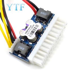 Ucuz Demo Kurulu Aksesuarları DC-ATX-160W Yüksek Güç DC 12V 24pin ATX Anahtarı PSU Araba Oto Mini ITX Tedarik