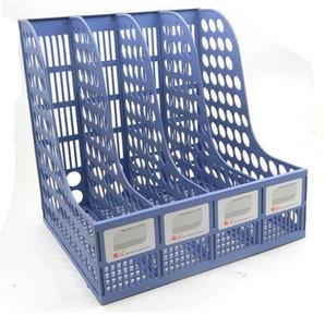 Plastic Four-grid file bar file box
