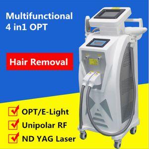 أحدث E ضوء إزالة الشعر IPL الليزر RF تجديد الجلد IPL إزالة الشعر OPT مزيل الشعر OPT SHR IPL آلة الجمال