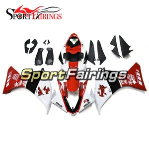 Complete Injection Fairings For Yamaha YZF1000 YZF R1 2012 2013 2014 ABS Plastics Fairings Motorcycle Bodywork Cowlings White Red Panels Kit
