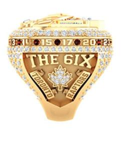 Großhandel Toronto 2018 2019 Saison Raptors Championship Ring Fan Männer Förderung-Geschenk Großhandel 2020 Drop Shipping