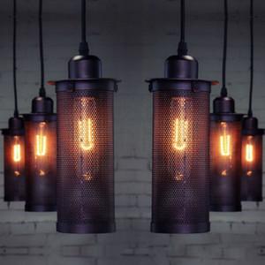 Suspendu au plafond Lustre Lampes Suspension Éclairage industriel Loft Lumière