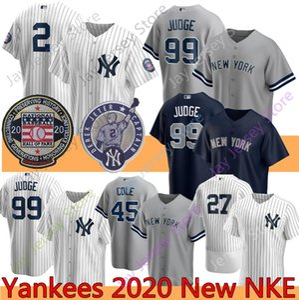 2020 Derek Jeter Jersey 27 Giancarlo Stanton 99 Aaron Giudice 26 DJ LeMahieu 25 Gleyber Torres 24 Gary Sanchez 45 Gerrit Cole