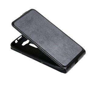 Pour Asus Zenfone 2 Laser / ZE500KL Basculement vertical étui en cuir avec fente pour carte Cadre photo