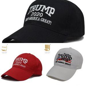hElWR Best Sale Hats Trump 2020 Make America Baseball Again Donald Trump Great Caps Embroidery Baseball Caps Adults Sports Hat Black & Red