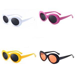 Nuovi arrivi adattano fumetto dei bambini di Hiphop Sunglasee delle ragazze dei ragazzi di Sunglass di personalità Cut Xo bambino di stile della protezione UV Occhiali eyeglasse # 244