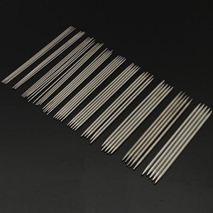 55Pcs set 20cm Straight Knitting Needles Stainless Steel Crochet Hooks for DIY Weave Knitting Tools Sewing Accessories