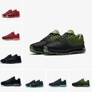 nike air max 2017 Drop Shipping 2019 Новые поступления женская дизайнерская обувь кроссовки черный белый кроссовки высокое качество спортивная обувь US Sz5. 5-11