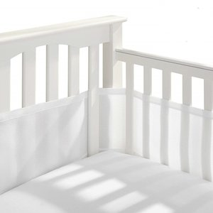 2pcs Crib Protector Cushion Soft Baby Cot Mesh Baby Room Decor Summer Breathable Infant Cot Newborn 320*150cm