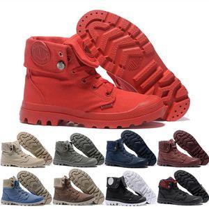 2019 최고 OG 팔라듐 Pallabrouse 여성 Men Martens Boots Classic Triple White Black Winter Boot Army Green 발목 Booties size 36-45