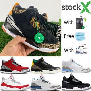 Animal instinct UNC 2020 scarpe da basket Jumpman SE rosso fuoco joker nero bianco gomma Chicago Uomini Sport Sneakers Designer