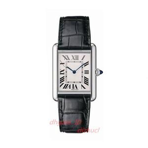 2020 heiße Verkaufs-Frauen Uhr neue Art und Weise Frauen-Kleid-Uhren Lässige Rectangule Lederband Relogio Feminino Dame-Quarz-Armbanduhr