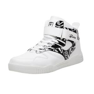 El tamaño grande 39-46 zapatillas de deporte de las botas Justin Bieber Super Star Hip Hop top del alto de los hombres zapatos casuales de DropShip S200409