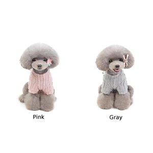 Autumn Korean Style Dogs Sweater Ladies Teddy Pet Winter Cloth Warm Comforatble