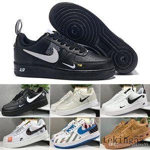 2018 Special Field SF Off For 1 One Men Women High Boots Running Shoes Sneakers Unveils Utility Boots Armed Classic Shoes 36-45 HS44C