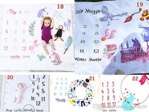 Ins du nouveau-né Unicorn Photographie Couvertures Wrap fond Props photo de bébé Prop Pâques Backdrops nourrisson Lettre souple Couverture Nouveau