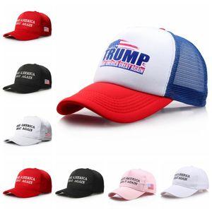 Make America Great Again chapeau Donald Trump Snapback Sports Chapeaux Casquettes de baseball Drapeau Chapeaux de fête en plein air 35pcs OOA6294