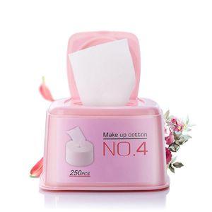 250pcs القطن منصات تشكل مزيل الوجه منصات التنظيف العميق أدوات تنظيف الأظافر أدوات ماكياج أدوات تنظيف الوجه