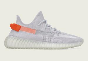 Designer Kanye West Tail lumière enfants Hommes Femmes chaussures à vendre avec la boîte Livraison gratuite 2020 nouvelles chaussures de course stockent size36-48