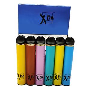 Başlangıç Seti 550mAh Pil e-sigaraların Boş Ambalaj Vaporizer ambalaj Xtra Tek Vape Kalem 5ml Cartrdiges Pod Son 12 Renkler