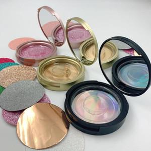 New 30pcs pestana Embalagem Círculo Box com espelho 8-25mm 3D cílios postiços embalagem caixa de maquiagem beleza