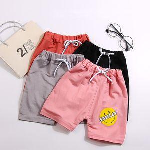 crianças Verão calções meninos e meninas calças quentes do bebê de cinco minutos calça casual wear calças de praia