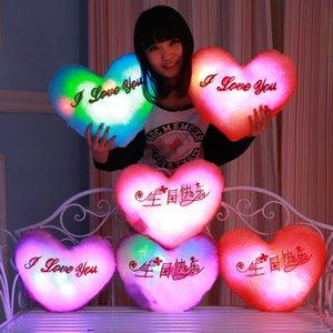 LED Flash Light Hold Kissen fünf Sterne Puppe Plüschtiere Stofftiere 40cm Beleuchtung Geschenk Kinder Weihnachtsgeschenk gefüllt Plüsch Spielzeug TTA 70